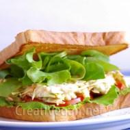 Sándwich vegetal… de verdad