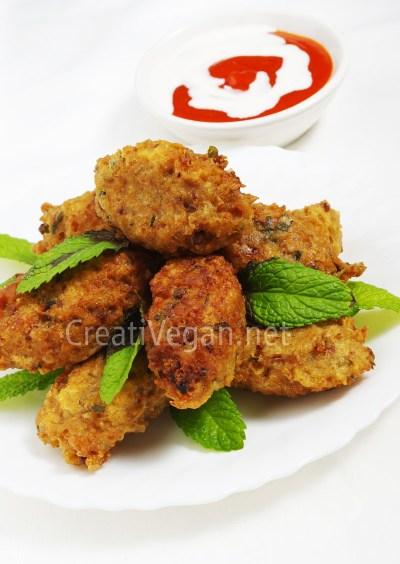 Bulgur Köftesi (vegano)