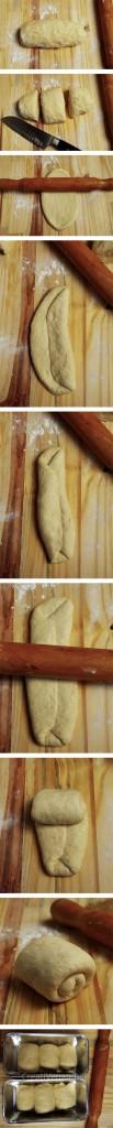 Pasos para hacer el pan japonés con leche de soja
