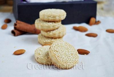 Mantecados de almendra y arroz (sin gluten)