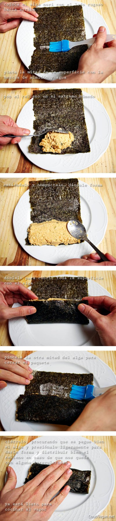Tutorial salmón vegano