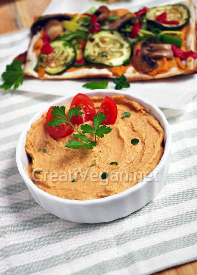 Pizza Hummus