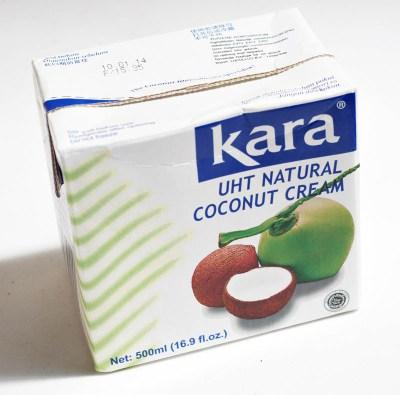 Crema de coco Kara