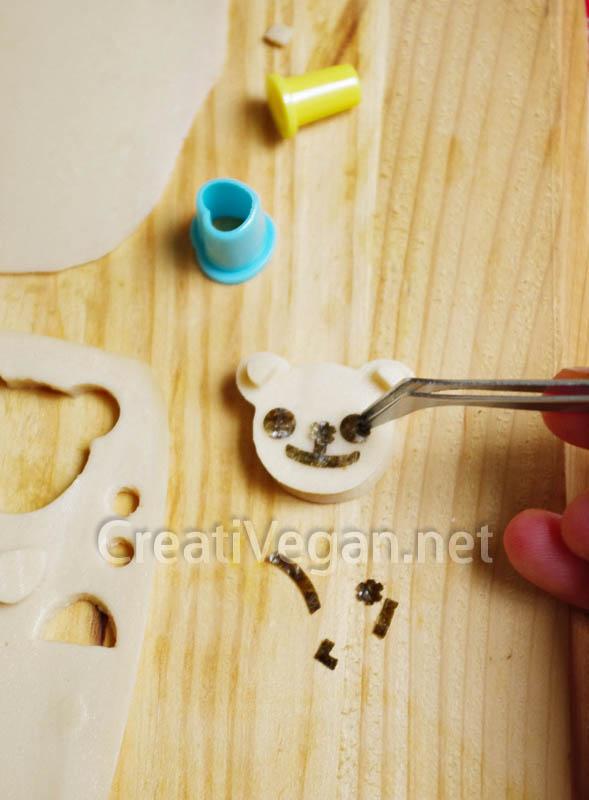Formas con queso vegano