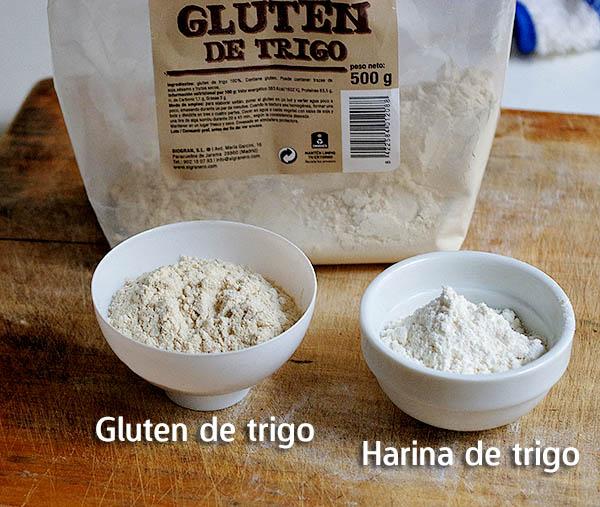 Tipos de harina de trigo