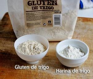 Gluten y harina de trigo