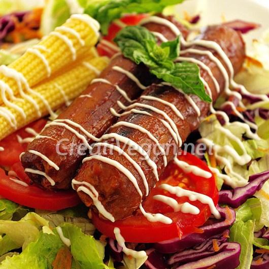Salchichas veganas versión 2