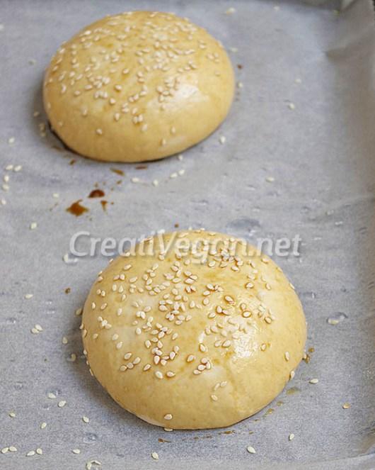 Panes de hamburguesa - proceso