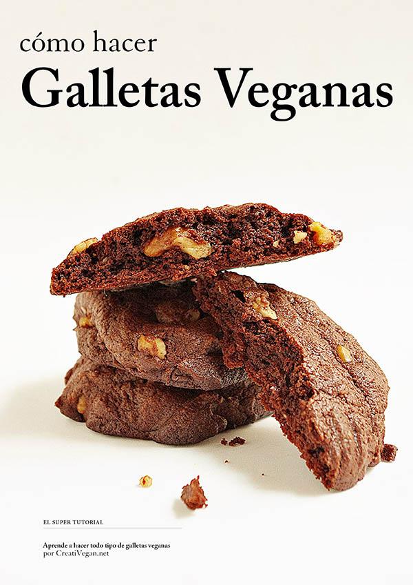 """Portada """"Cómo hacer Galletas Veganas"""""""
