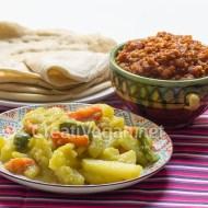 Alicha de patata y zanahoria + mesir wat