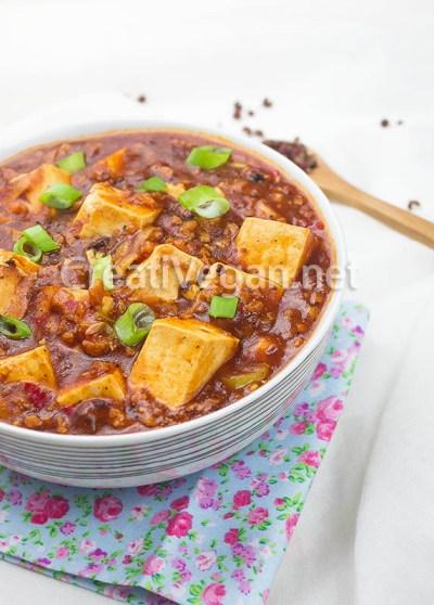 Mapo tofu (vegano)