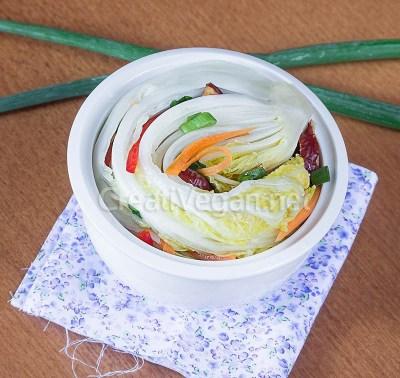 Baek-kimchi (kimchi blanco)