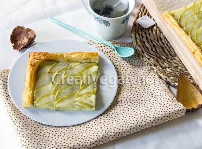 Tarta de manzana verde