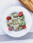 Coles de bruselas a la carbonara vegana