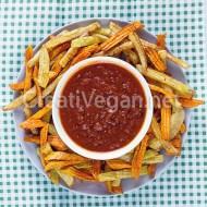 Salsa de tomate y pimientos