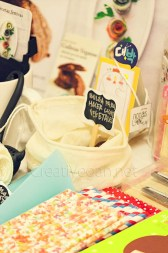 Stand de CreatiVegan en el Malasaña Market - octubre 2015