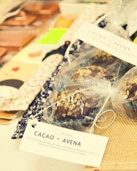 Magdalenas de cacao y avena - CreatiVegan en el Malasaña Market Octubre 2015