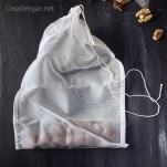 Bolsa de nailon para hacer leches vegetales - CreatiVegan.net