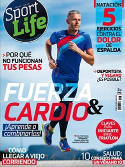 CreatiVegan en la revista Sport Life nº 206