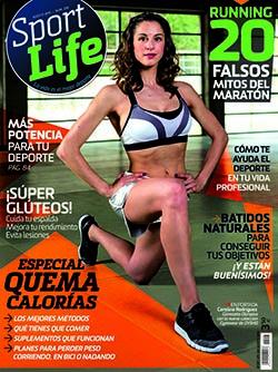 CreatiVegan en la revista Sport Life nº 208