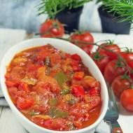 Pisto (cebolla, pimiento, tomate)