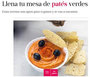 Mujer Hoy - Patés vegetales