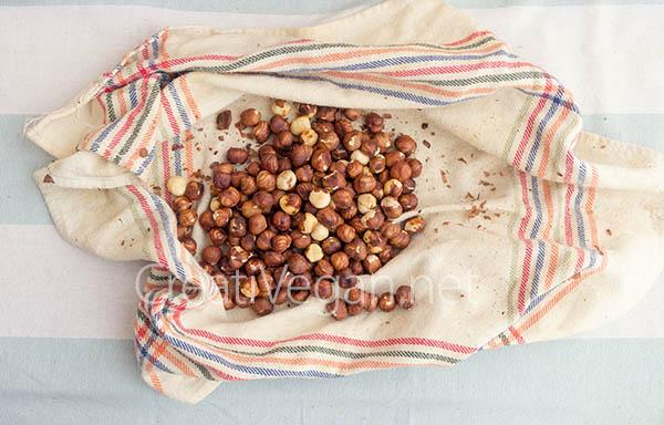 Avellanas recién tostadas - CreatiVegan.net