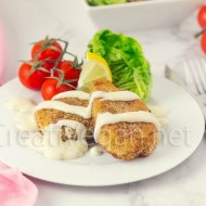 Vegetable cutlets de 1918