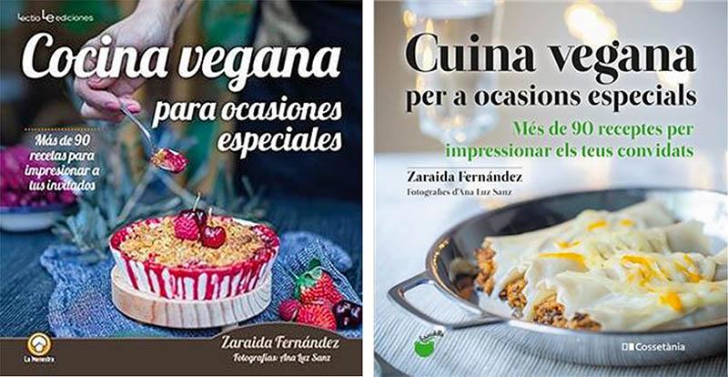 Cocina vegana para ocasiones especiales - Zaraida Fernández