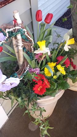 Spring gardening container in Minnetonka MN