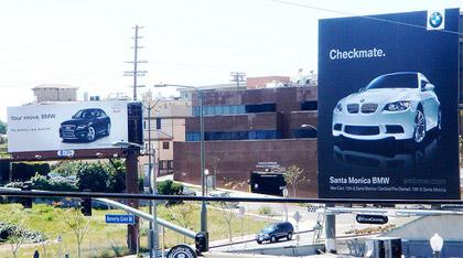 bmw guerilla marketing example