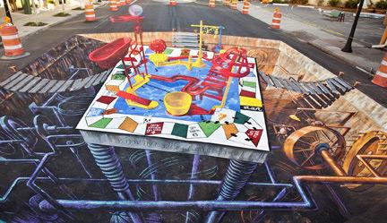 7701e4f329aa55bad57891ca2dbf075c 55+ Amazing 3D Street Art Guerrilla Marketing Examples Guerilla Marketing Example