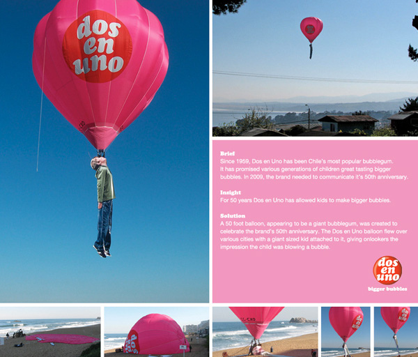b356ad27840c91e2fa45f3f645d42839 122 Must See Guerilla Marketing Examples Guerilla Marketing Example