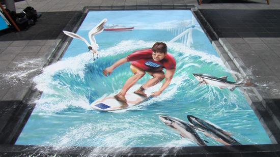 d58aa364013edbccd14d7374ba64b9c8 55+ Amazing 3D Street Art Guerrilla Marketing Examples Guerilla Marketing Example