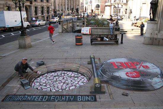 e137358aa0c9c5c9464c5b410652f7df 55+ Amazing 3D Street Art Guerrilla Marketing Examples Guerilla Marketing Example