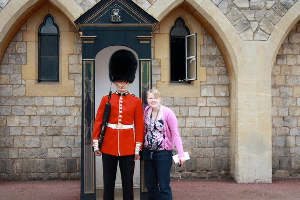 With an English Guard