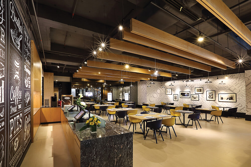 Trendy Theme A Cafe Featuring Open Spaces With Flourishing Wood Feature Malaysias No1