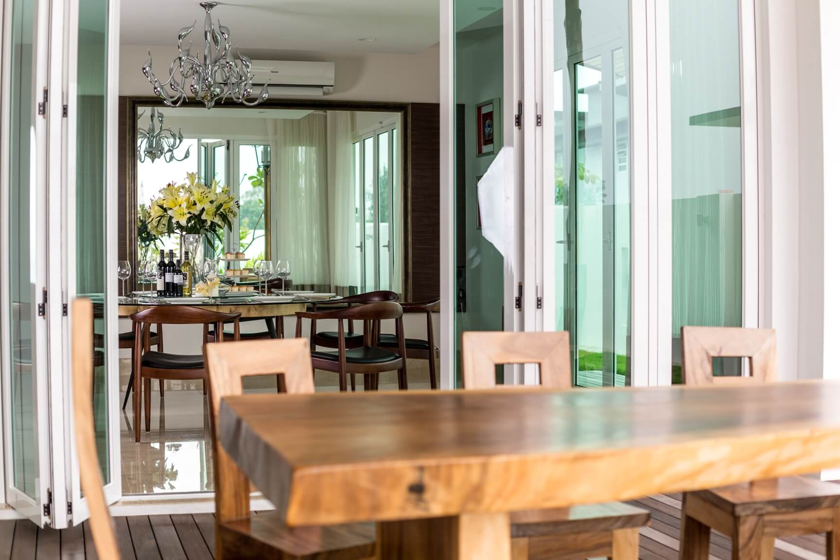 Wood Wonders 3 Dining Rooms With A Woody Theme Malaysia