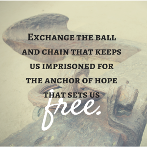 Exchange the ball and chain that keeps