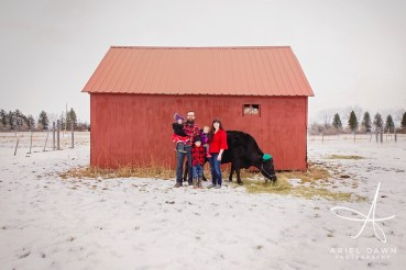 Masterpiece Monday Red Barn Family