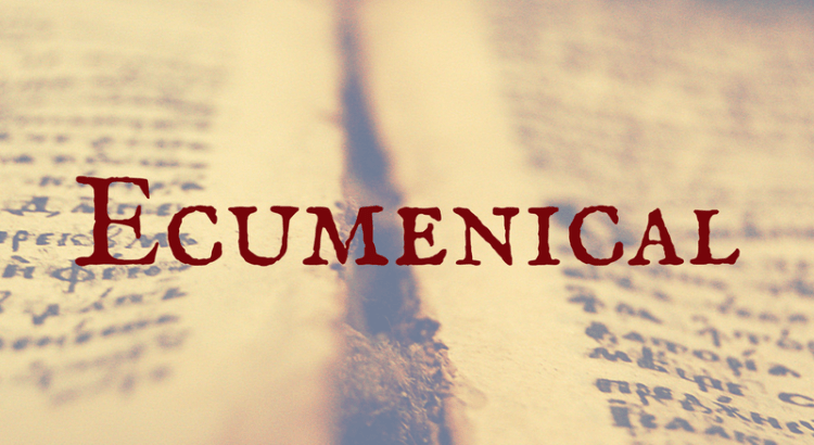 Word Nerd Wednesday - Ecumenical