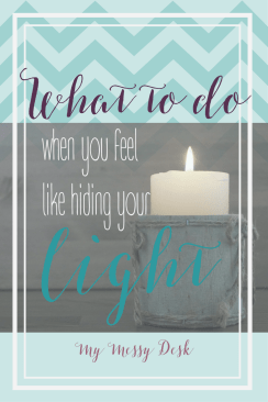 Hiding Your Light