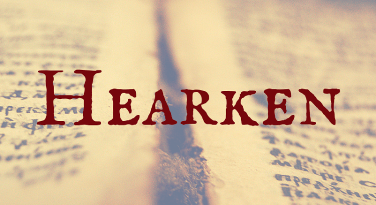 hearken word nerd wednesday nicol valentin