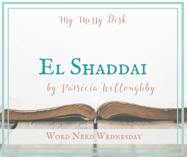 El Shaddai The Lord God Almighty by Patricia Willoughby