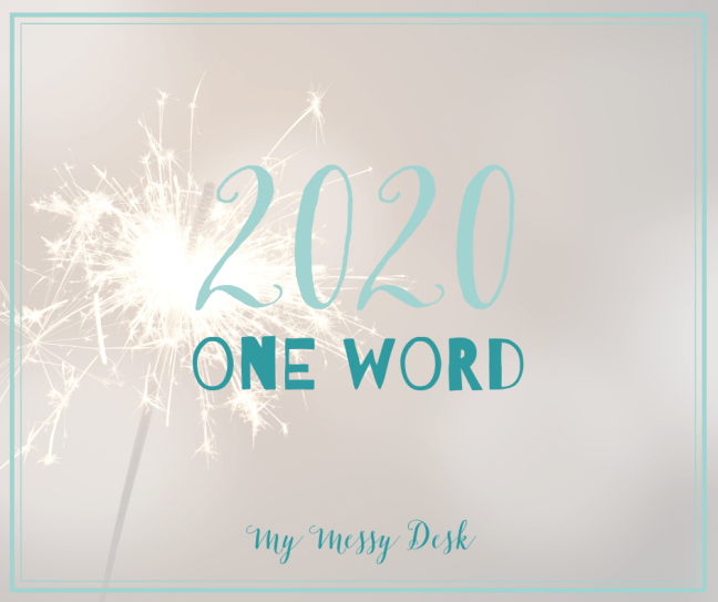 2020 one word