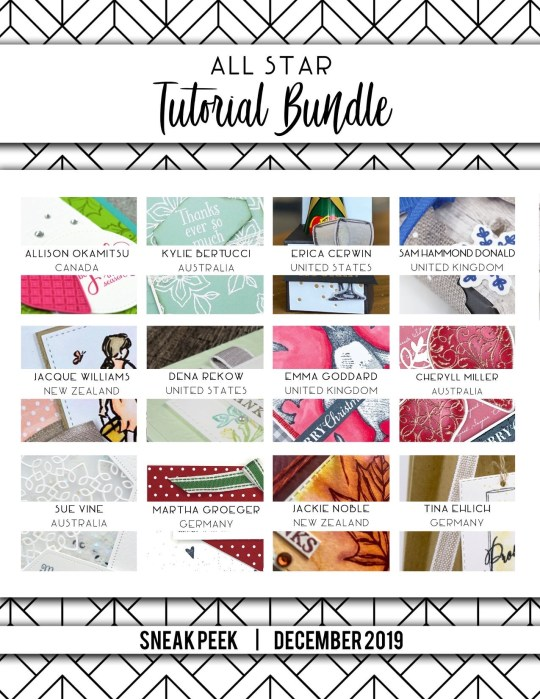 December 2019 Tut Bundle Sneak Peek