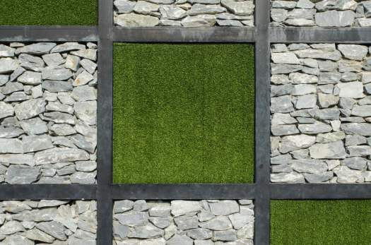 Creative Synthetic Turf Surfaces and Designs.