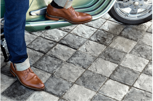 Cobble, multi-coloured patterns, and strong texture paver add character and showcase a real effort for presentation.
