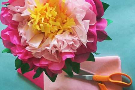 How to make tissue paper flowers youtube images quick handmade tissue paper flowers youtube quick handmade tissue paper flowers pink stripey socks tissue paper mightylinksfo