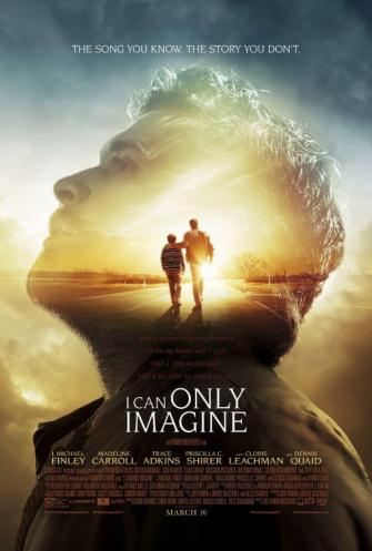 "The film brings to life the true story behind the song of ultimate hope, ""I Can Only Imagine."" A transformed relationship with his troubled father inspired Bart Millard, the lead singer of the Christian band MercyMe, to write what is now the most-played radio single in Christian music history.  The story beautifully illustrates that nobody is ever too far from God's love --  or too far from an eternal home in Heaven."
